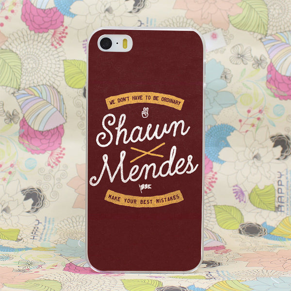 Shawn Mendes Artistic iPhone Case