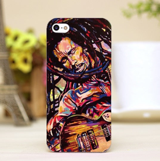 Bob Marley Guitar Oil Painting iPhone Case - Muse Raven - Dream Out Loud