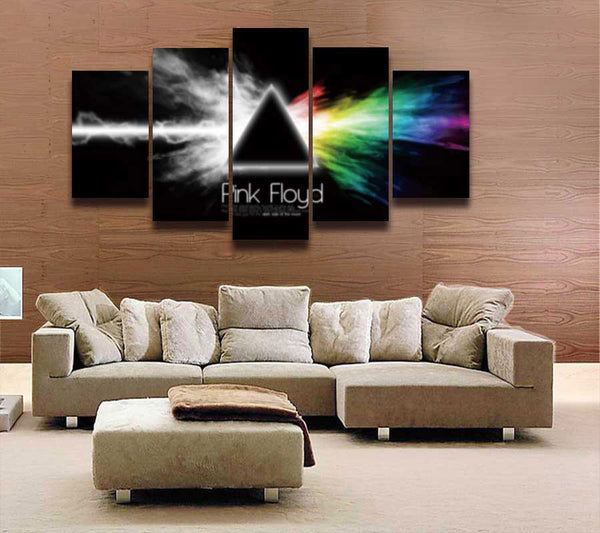 Pink Floyd Canvas Painting