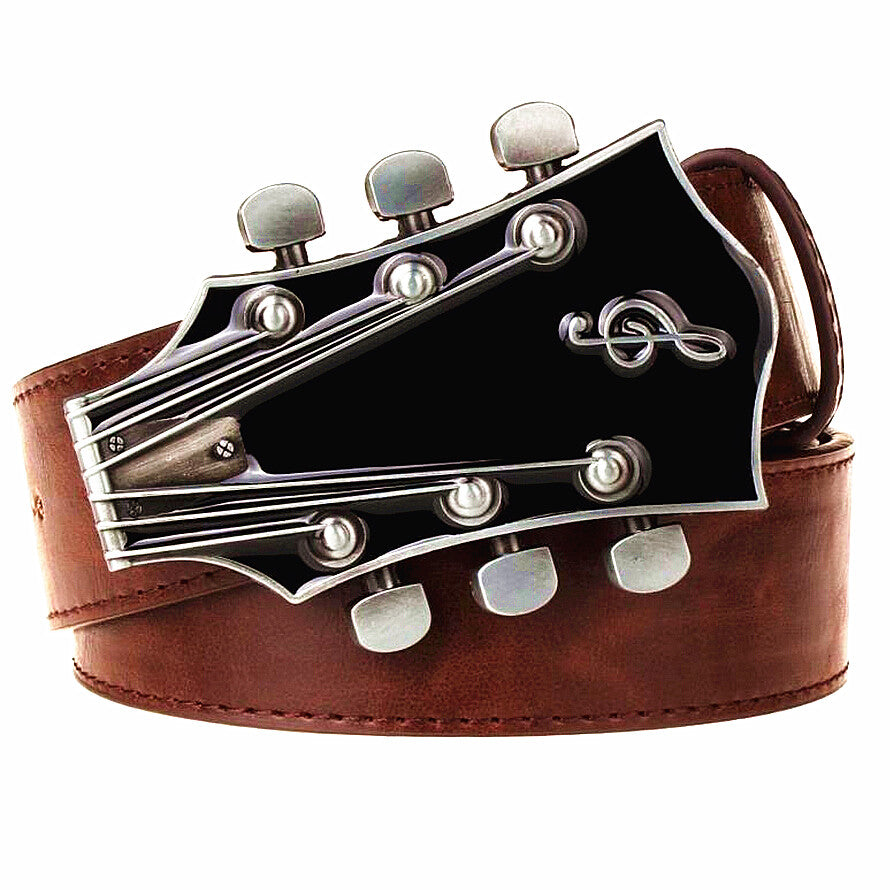 The Guitarist Belt Buckle