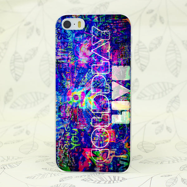 Coldplay Colors Live iPhone Case
