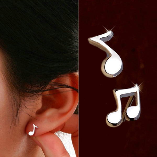 Music Notes Earrings Set - Muse Raven - Dream Out Loud