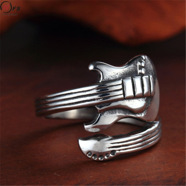 Stratocaster Stainless Steel Ring