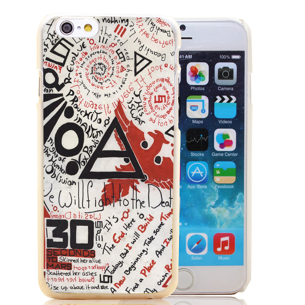 30 Seconds To Mars Artistic iPhone Case