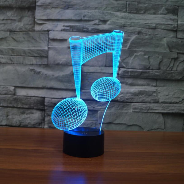 Music Note LED