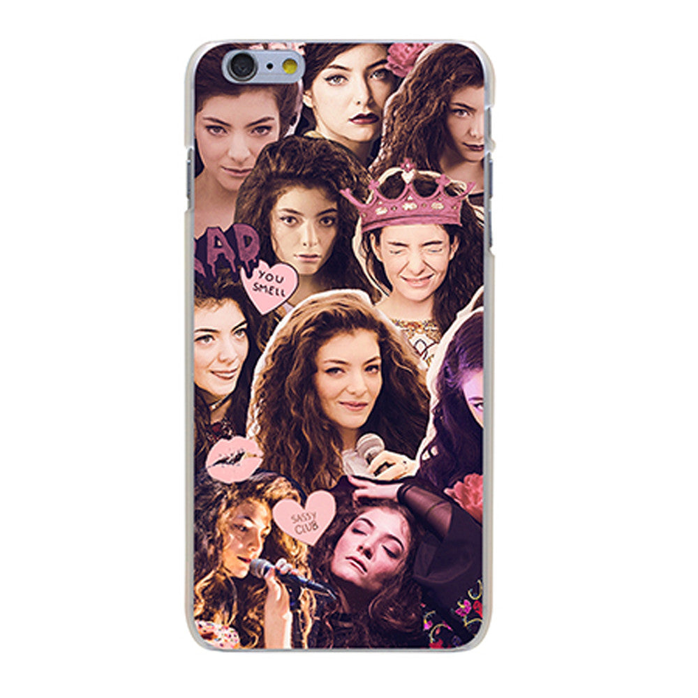 Lorde Urbanic Collection iPhone Cases