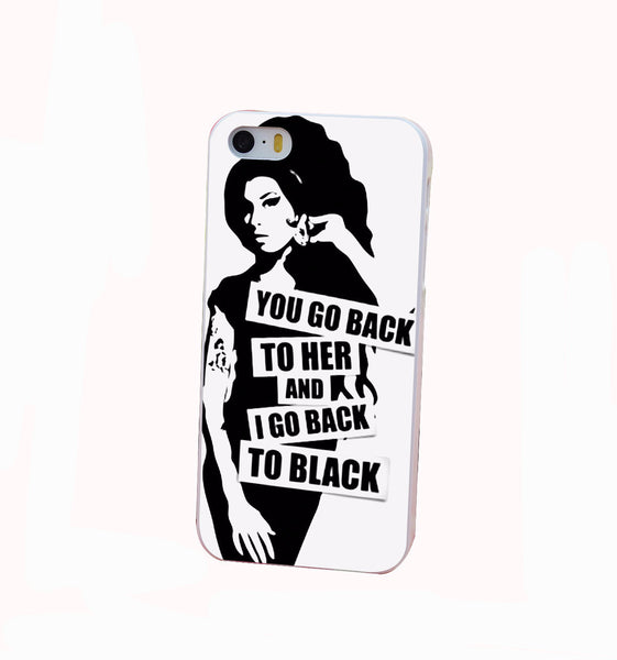 Amy Winehouse Back To Black iPhone Case - Muse Raven - Dream Out Loud