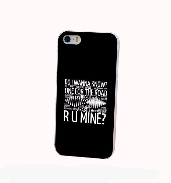 Arctic Monkeys R U Mine iPhone Case - Muse Raven - Dream Out Loud