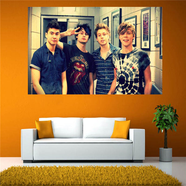 5 Seconds of Summer HD Canvas
