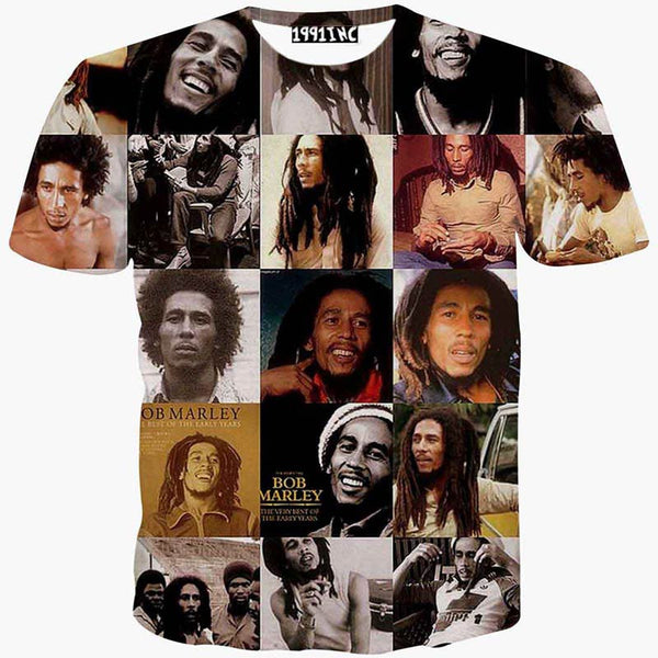 Bob Marley Artistic T-Shirt - Muse Raven - Dream Out Loud