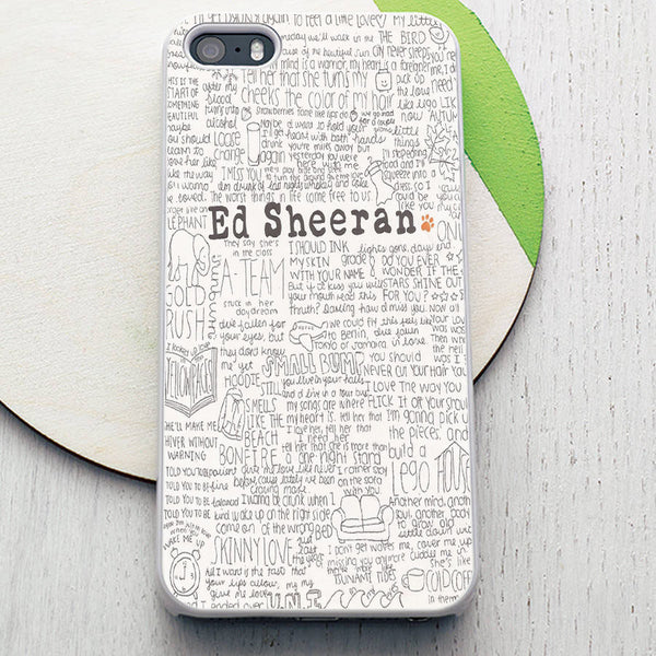 Ed Sheeran Artistic iPhone Case - Muse Raven - Dream Out Loud