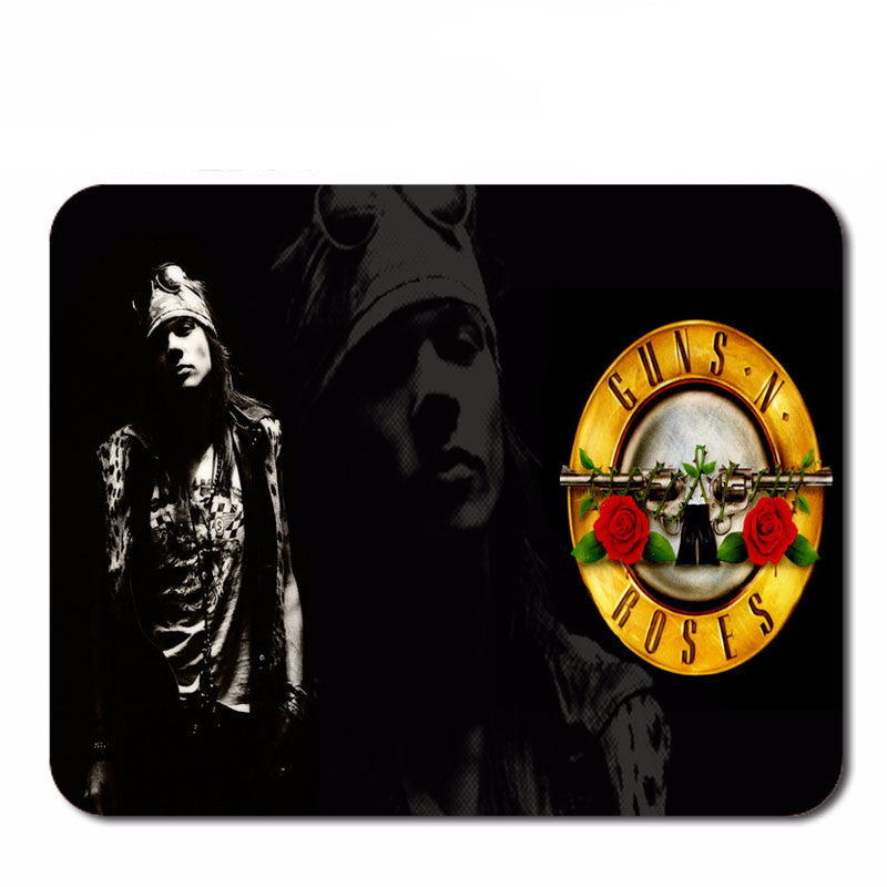 Guns N' Roses Axl Rose Mouse Pad - Muse Raven - Dream Out Loud