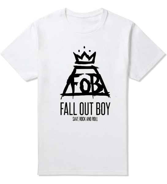 Fall Out Boy Save Rock T-Shirt - Muse Raven - Dream Out Loud