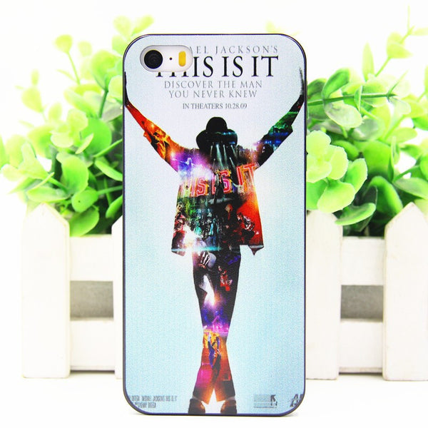 Michael Jackson This is It iPhone Case - Muse Raven - Dream Out Loud