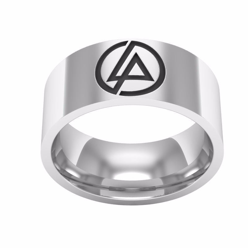 Linkin Park Stainless Steel Ring - Muse Raven - Dream Out Loud