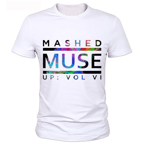Muse Mashed Up T-Shirt - Muse Raven - Dream Out Loud
