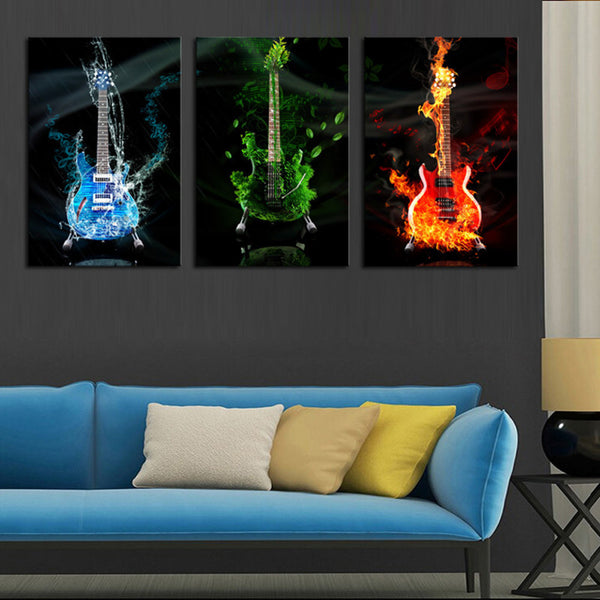 Acid Rock Canvas Painting