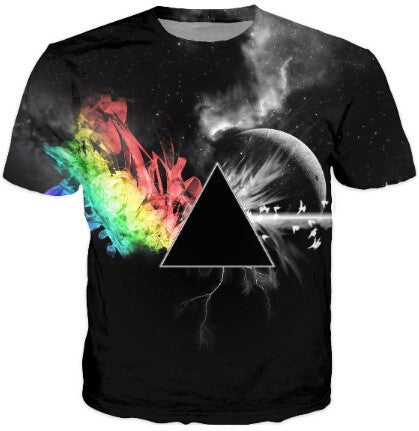Pink Floyd Artistic Dark Side T-Shirt - Muse Raven - Dream Out Loud