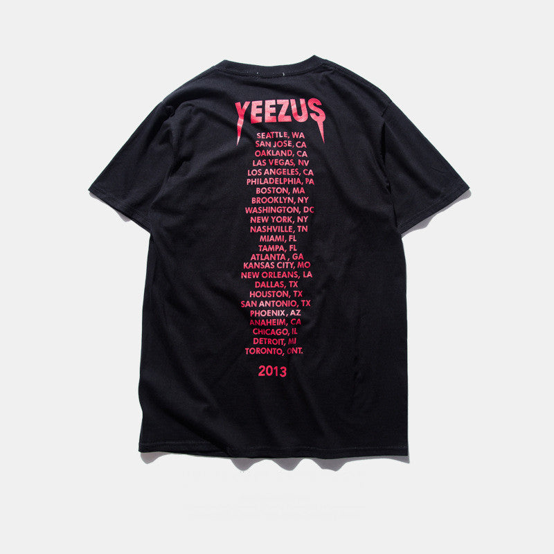 Kanye West Yeezus Tour T-Shirt - Muse Raven - Dream Out Loud
