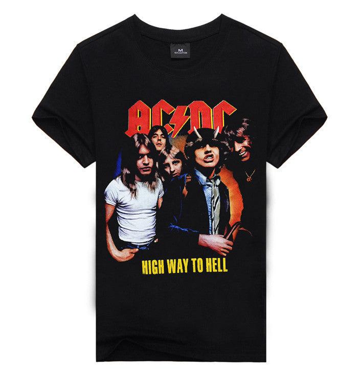 AC/DC Highway To Hell T-Shirt - Muse Raven - Dream Out Loud