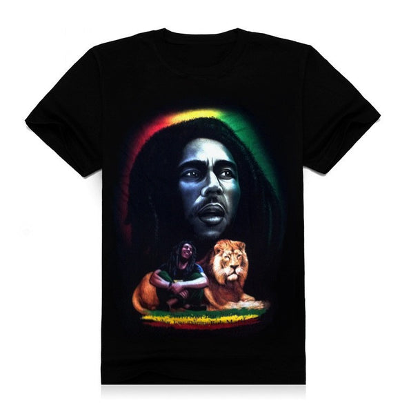 Bob Marley Lion T-Shirt - Muse Raven - Dream Out Loud