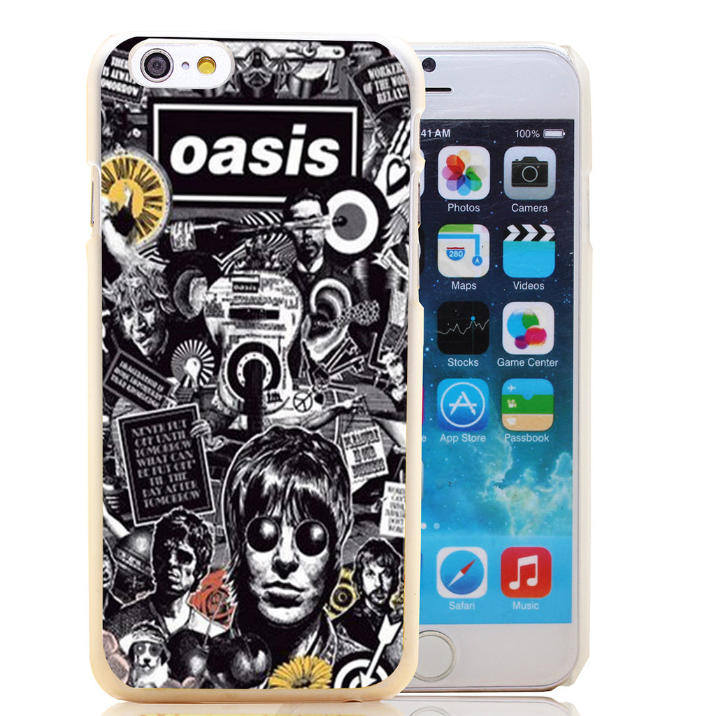 Oasis Black & White iPhone Case - Muse Raven - Dream Out Loud