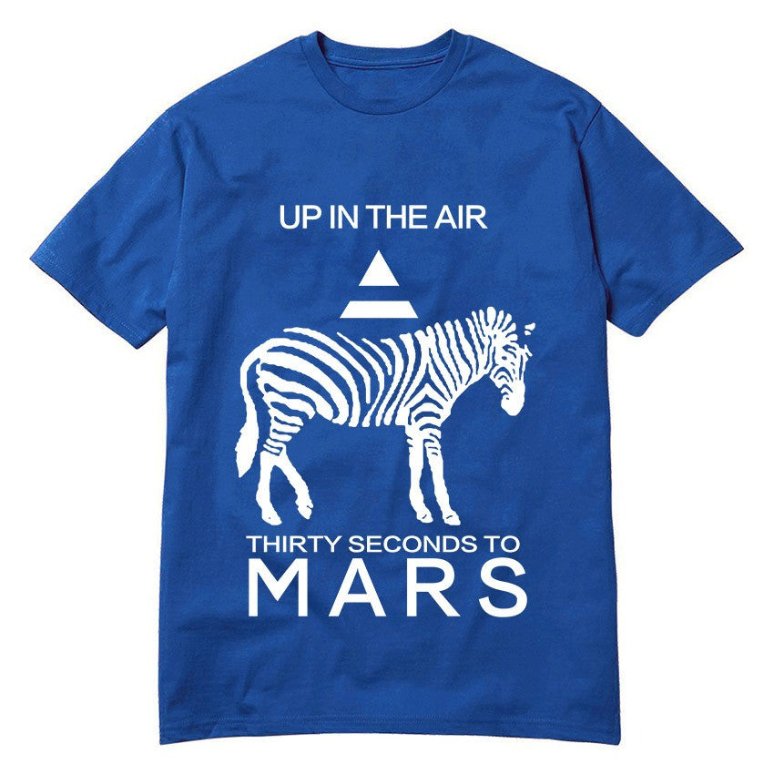30 Seconds To Mars Up In The Air T-Shirt - Muse Raven - Dream Out Loud
