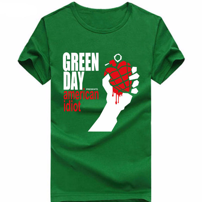 Green Day American Idiot T-Shirt - Muse Raven - Dream Out Loud