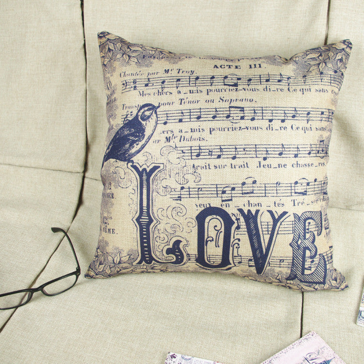 Music is Love Pillow Case