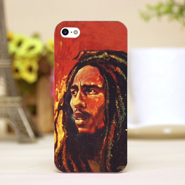 Bob Marley Sunset Oil Painting iPhone Case - Muse Raven - Dream Out Loud