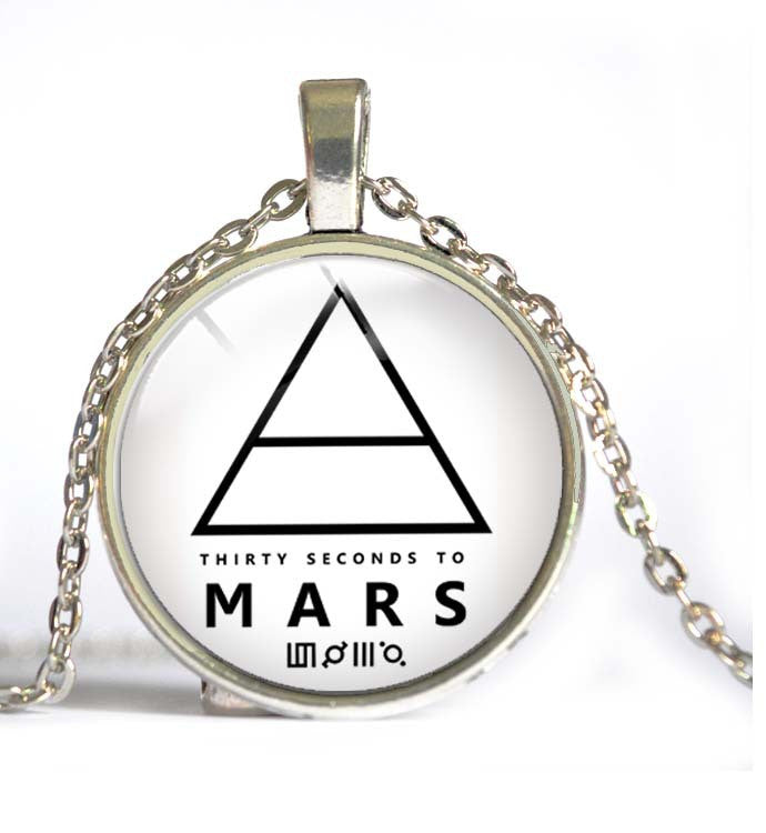 30 Seconds To Mars Steel Necklace - Muse Raven - Dream Out Loud