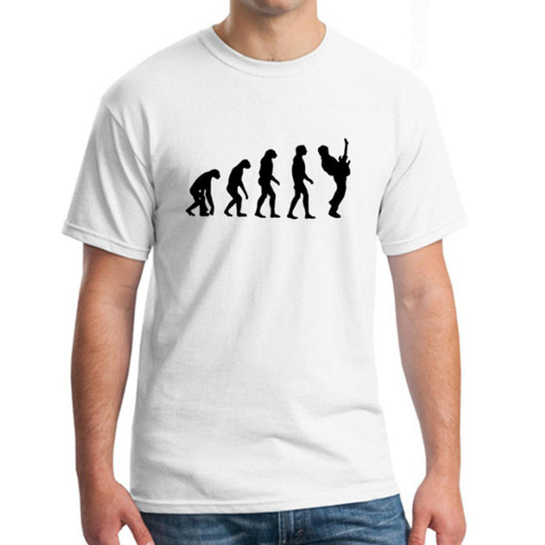 The Evolution of Guitarist T-Shirt