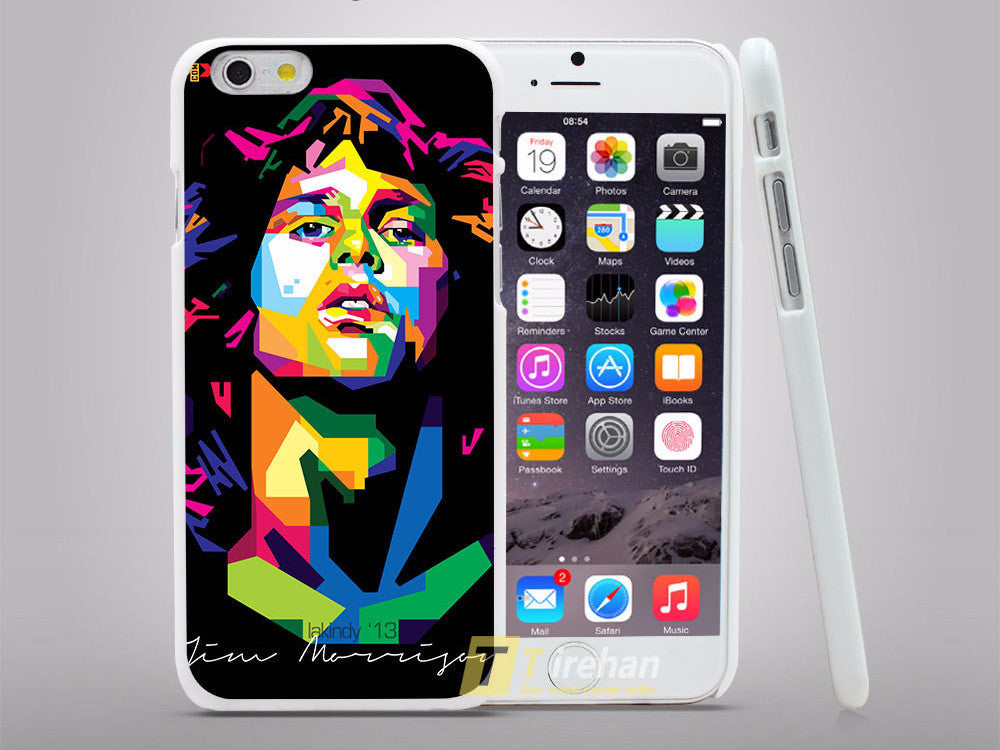 Jim Morrison Artistic iPhone Case - Muse Raven - Dream Out Loud