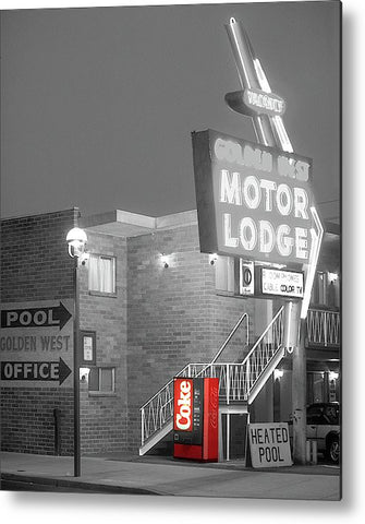 How About a Coke? Metal Print