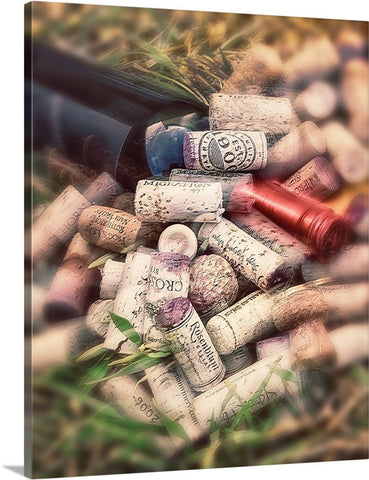 Corks and Bottle Canvas