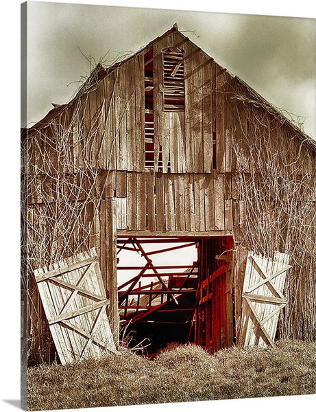 Deserted Barn Canvas