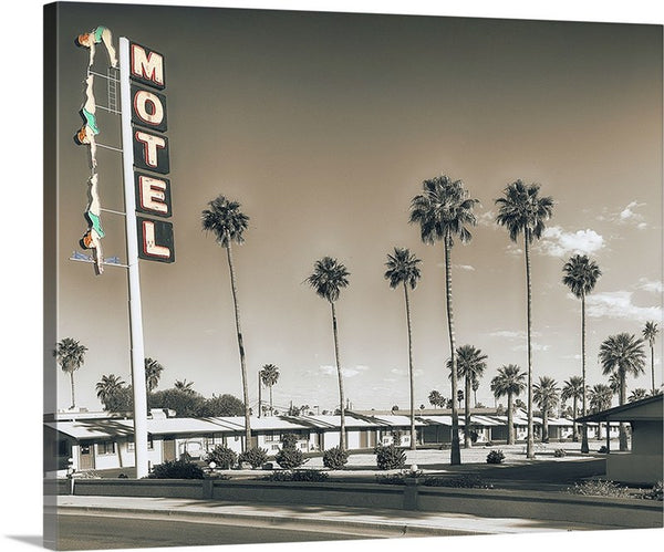 Dive Motel Canvas