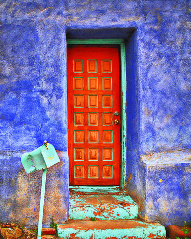 Urban Southwest Door Standard Art Print