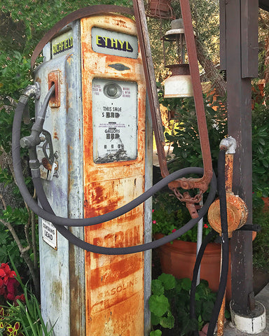 Ethyl Gas Pump Metal Print
