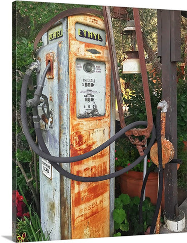 Ethyl Gas Pump Canvas