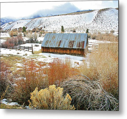 Refuge from the Storm Metal Print
