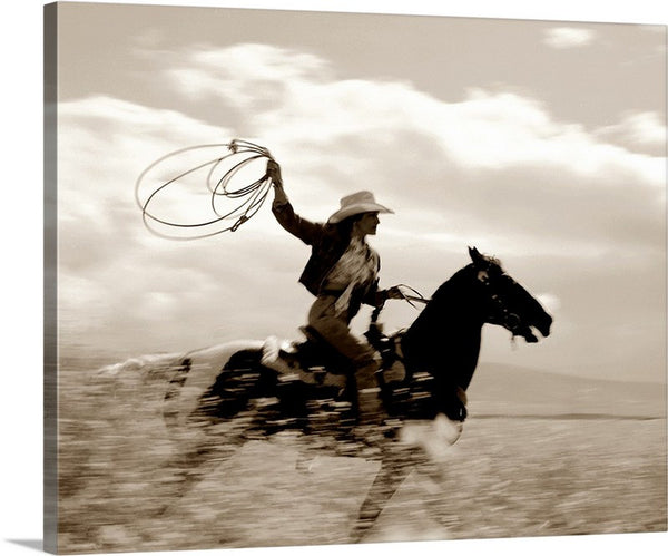 Ride with the Wind Canvas