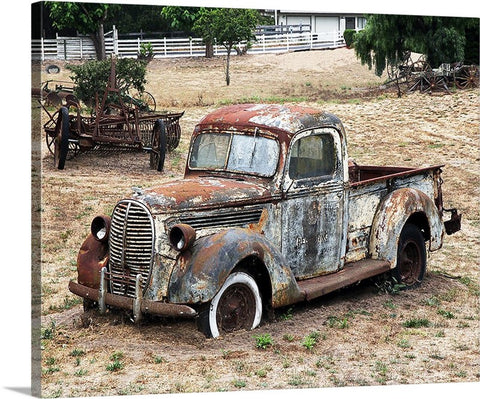 Rusty Ford Canvas