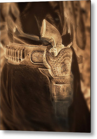 Six-guns Metal Print