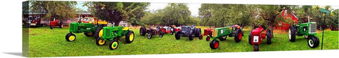 Tractors Skinny Canvas