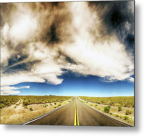 Which Road to Take Metal Print
