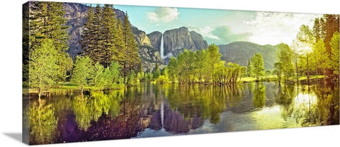 Yosemite Valley Panoramic, Yosemite National Park, California Canvas