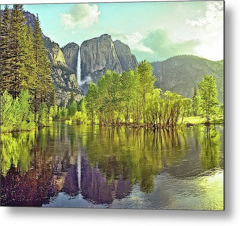 Yosemite Valley, Yosemite National Park, California Metal Print