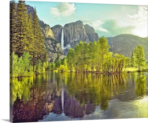 Yosemite Valley, Yosemite National Park, California Canvas