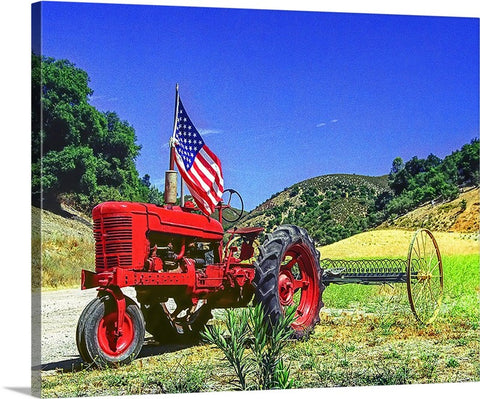 All American Tractor Canvas